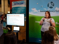 Suzanna presenting at the ALA Annual Conference, June 2016