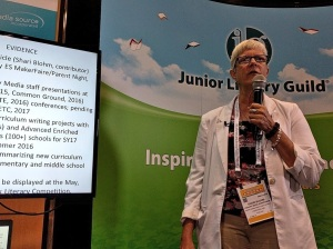 Shari presenting at the ALA Annual Conference, June 2016